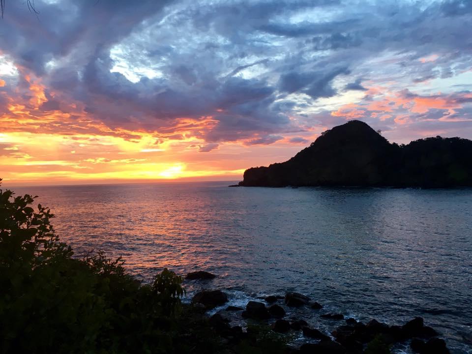 lindsay nova aqua wellness resort nicaragua yoga sunset