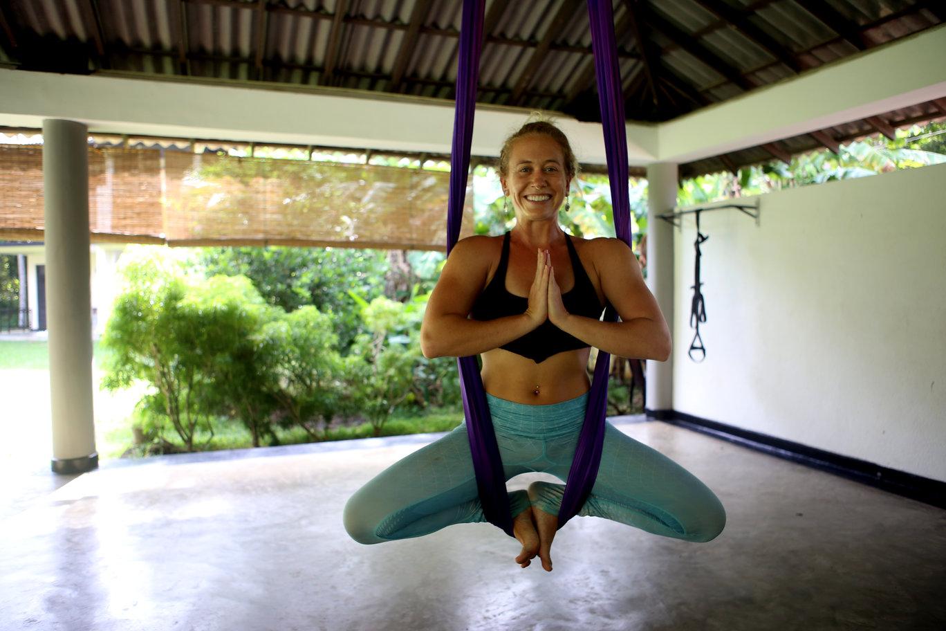 aerial yoga teacher training koh phangan thailand 2018 september