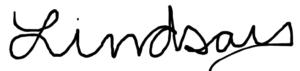 Lindsay nova signature