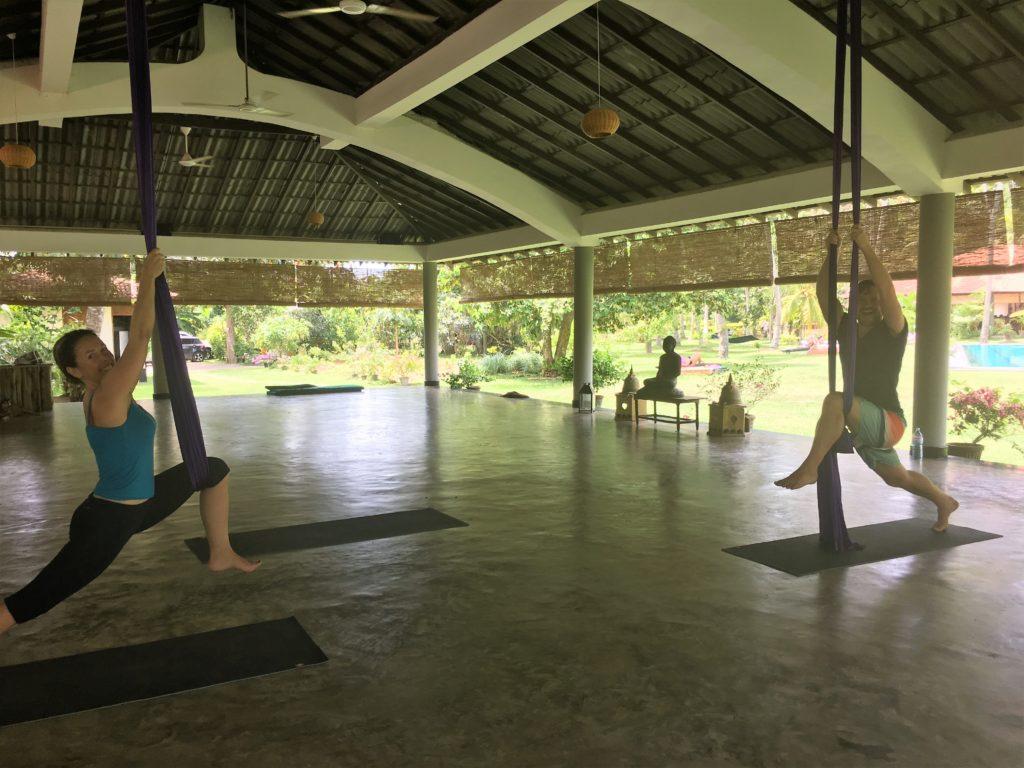 aerial yoga inspiration lindsay nova retreat sri lanka blog