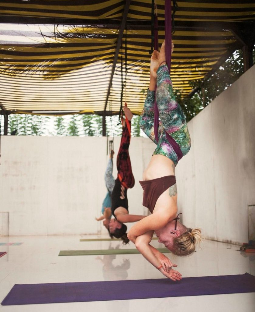 aerial yoga inspiration lindsay nova retreat sri lanka blog