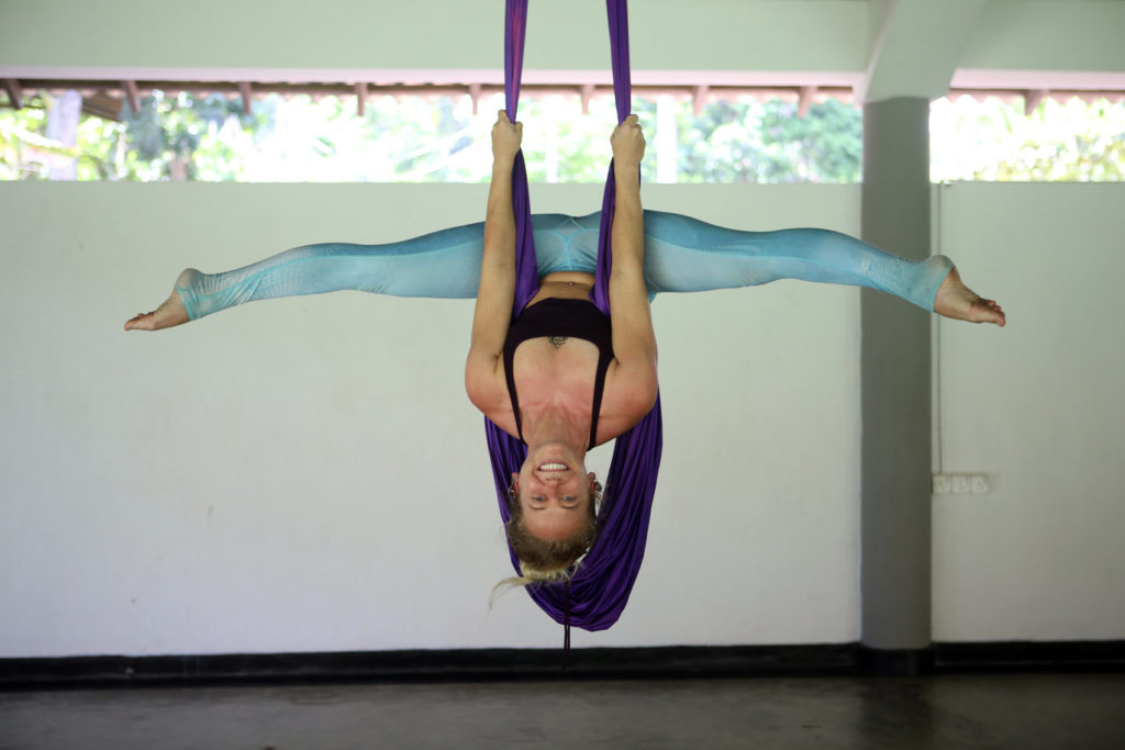 aerial yoga retreat sri lanka lindsay nova