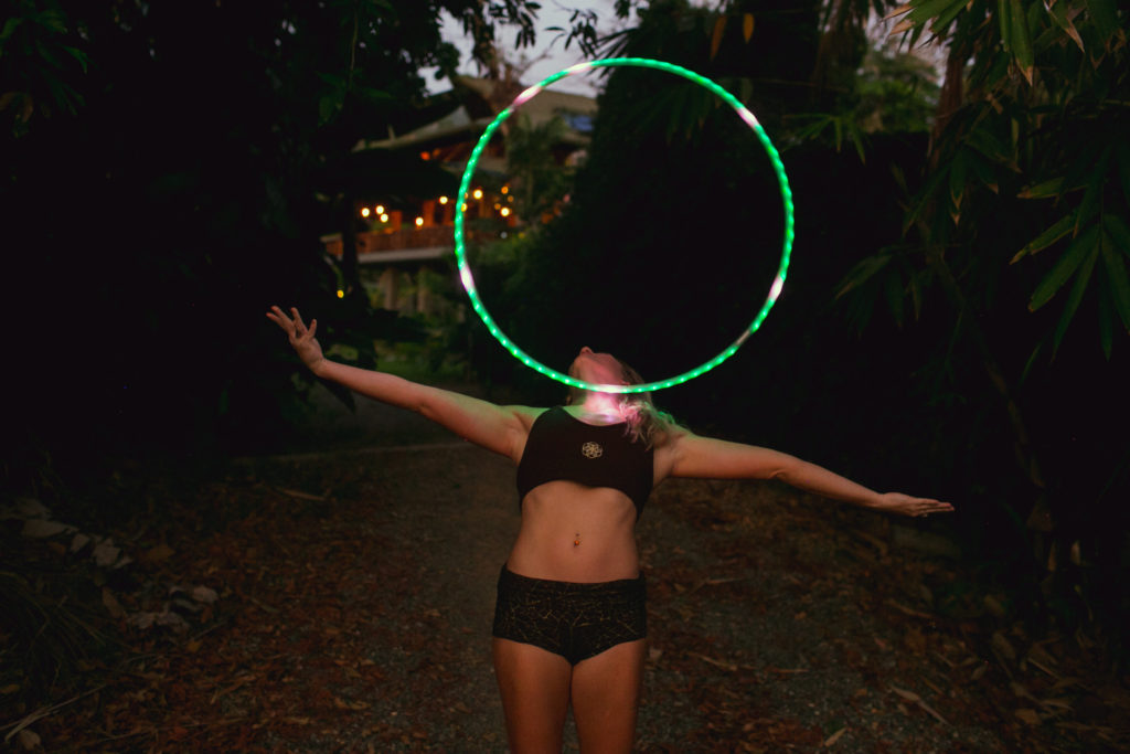 lindsay nova chest roll led hula hoop