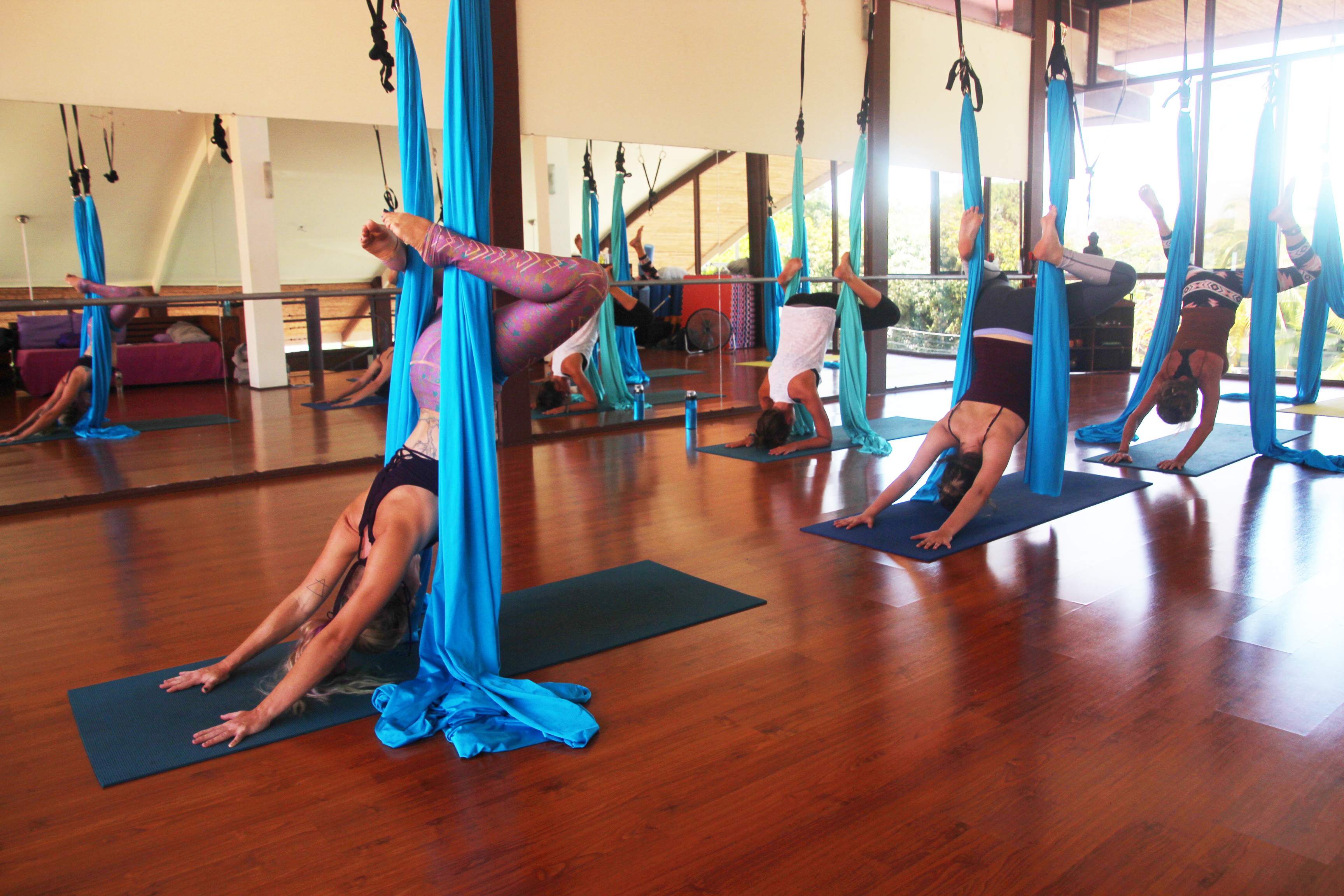 How to Break 3 Myths About Being a Spiritual Entrepreneur lindsay nova costa rica travel aerial yoga teacher