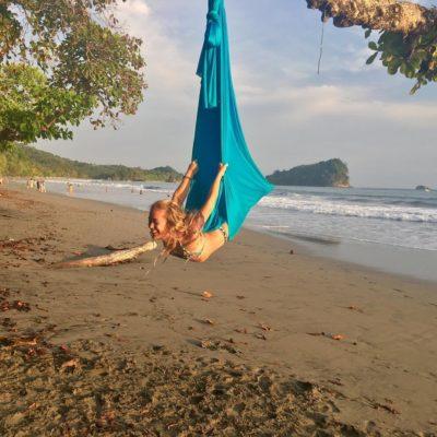 certified aerial yoga teacher training greece goa india mexico europe lindsay nova 50-hours level 1