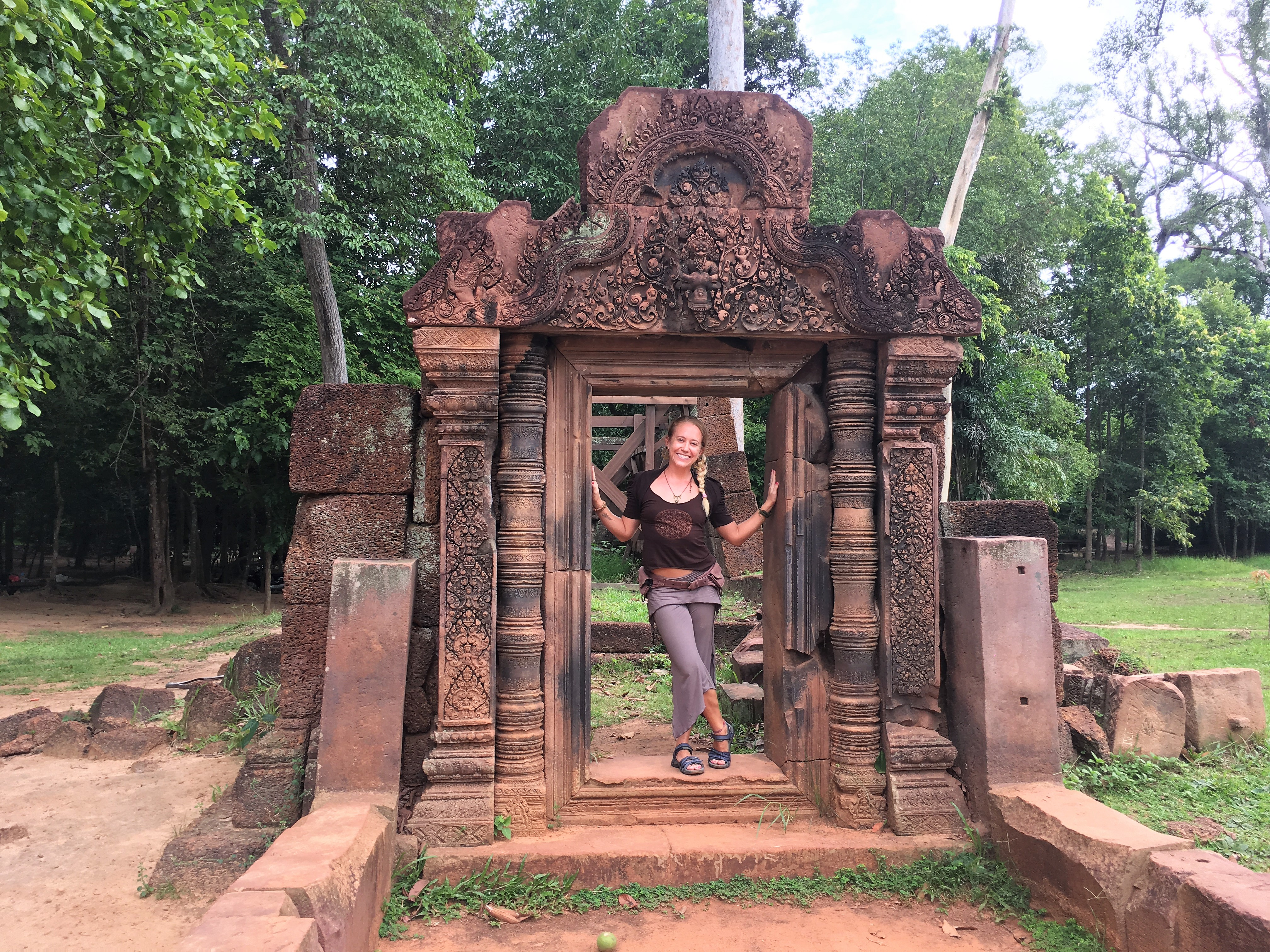 How to Break 3 Myths About Being a Spiritual Entrepreneur lindsay nova cambodia angkor wat travel yoga teacher