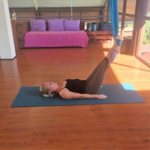 aerial yoga chakra sequence goa india retreat