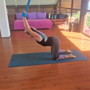 aerial yoga chakra sequence to improve your life today