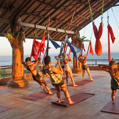 lindsay nova aerial yoga bali