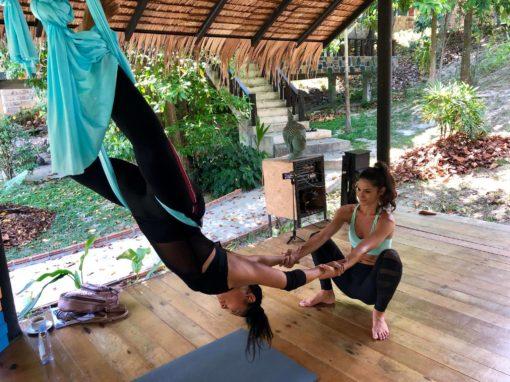 lindsay nova rising wings aerial yoga teacher training thailand