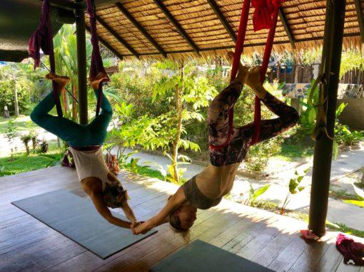 aerial yoga koh phangan thailand lindsay nova