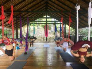 aerial yoga teacher training level 2 advanced koh phangan thailand
