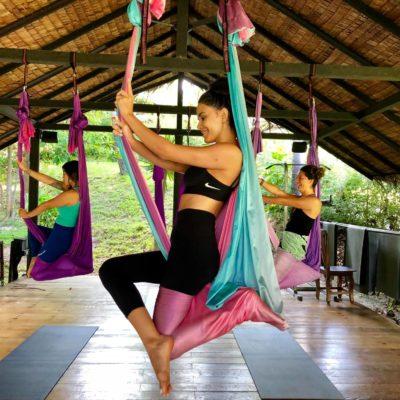 aerial yoga koh phangan thailand