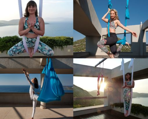 aerial yoga retreat greece lindsay nova muse magic rising wings