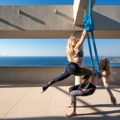 rising wings aerial yoga retreat greece europe wellness lindsay nova yoga alliance
