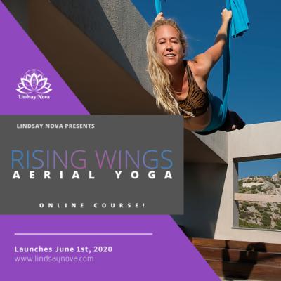 lindsay nova online aerial yoga rising wings aerial yoga