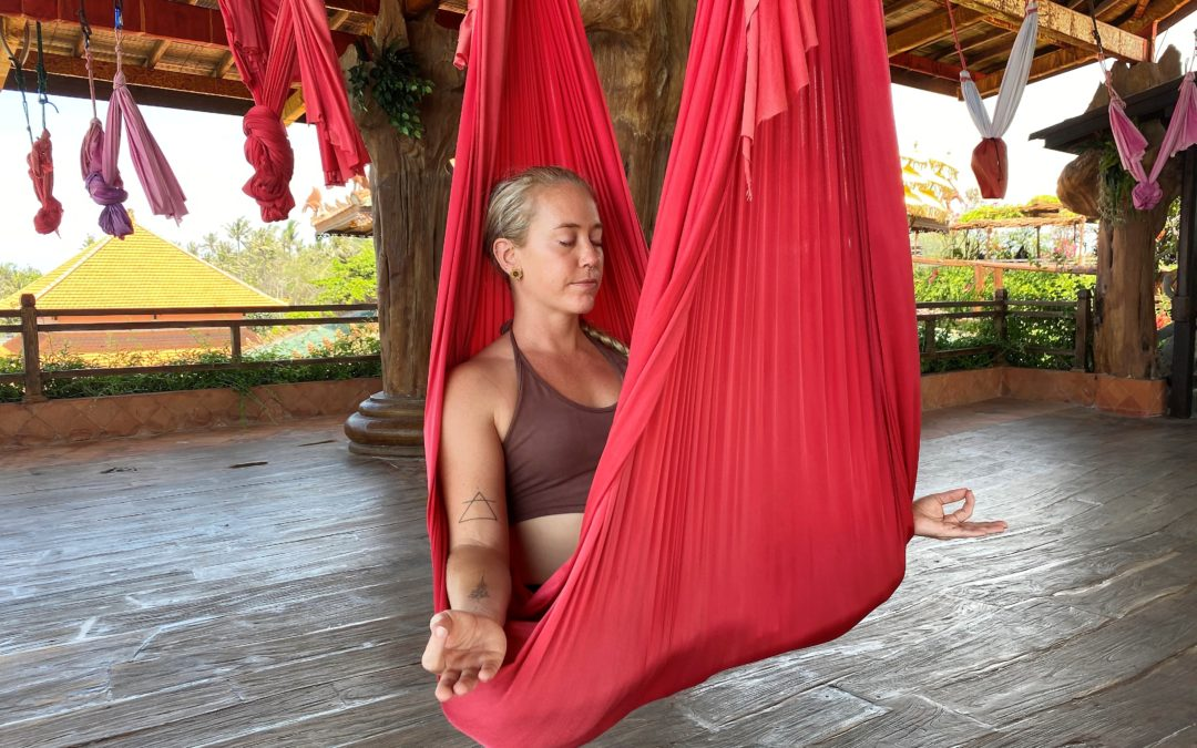 How To Use An Aerial Hammock To Help Back Pain